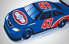 Kingsford NASCAR Illustration